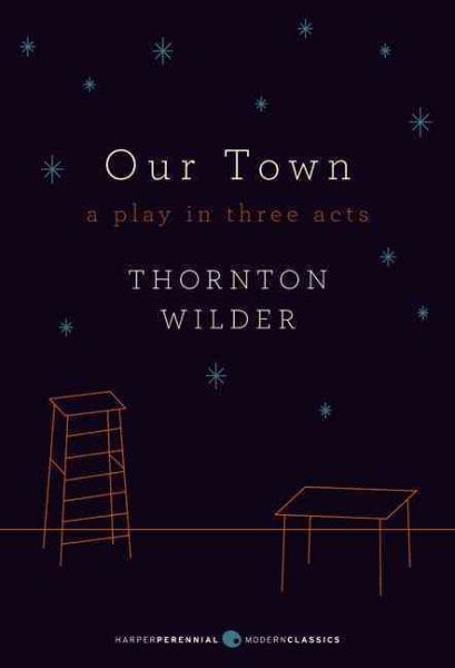 "an analysis of the play our town by thornton wilder ""devotedly, thornton"": first edition of our town inscribed by wilder, with an autograph letter by him to ""the father of intelligence analysis"" wilder, thornton our town."