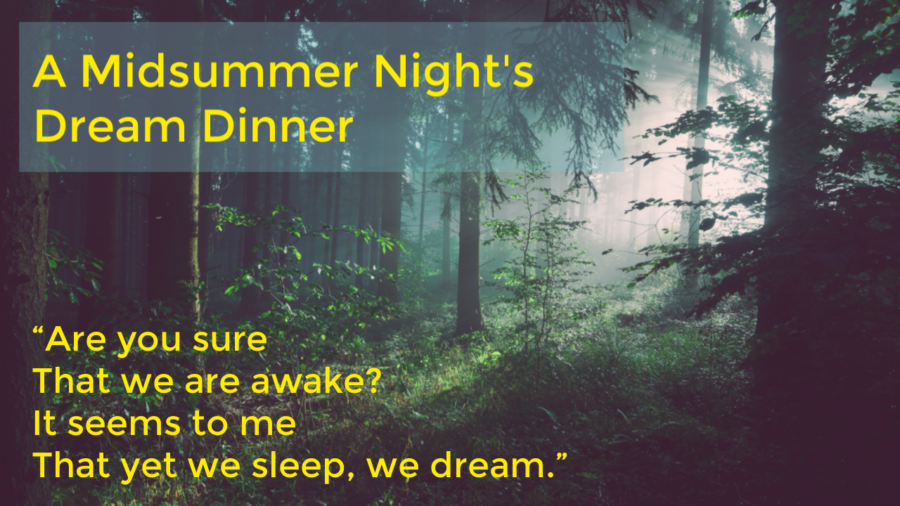 Midsummer Night's Dream Dinner Ticket